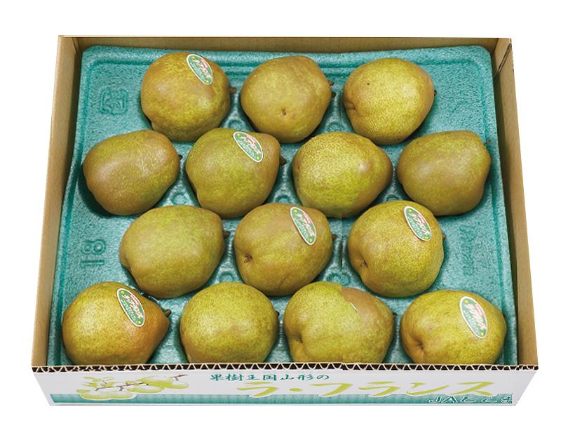 ラ・フランス箱入約5kg14〜16玉(家庭用)