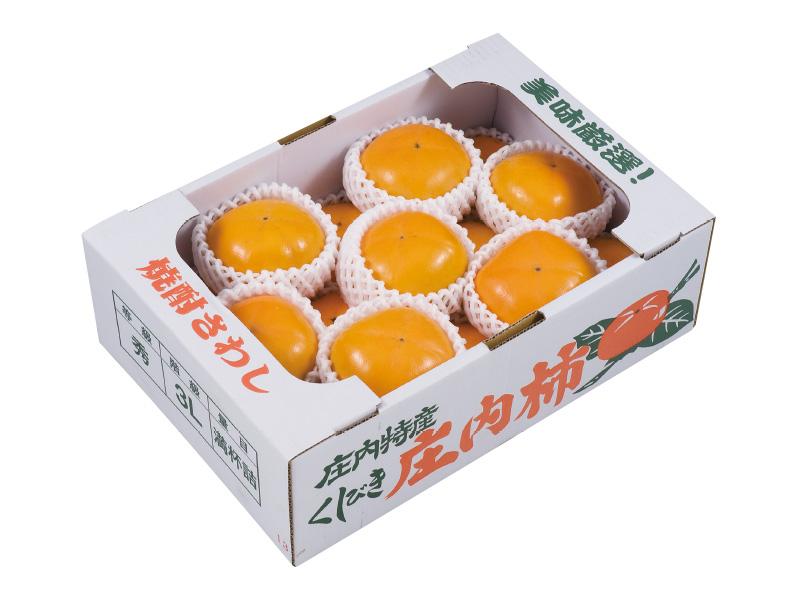 櫛引産庄内柿2L〜3L級15〜18個