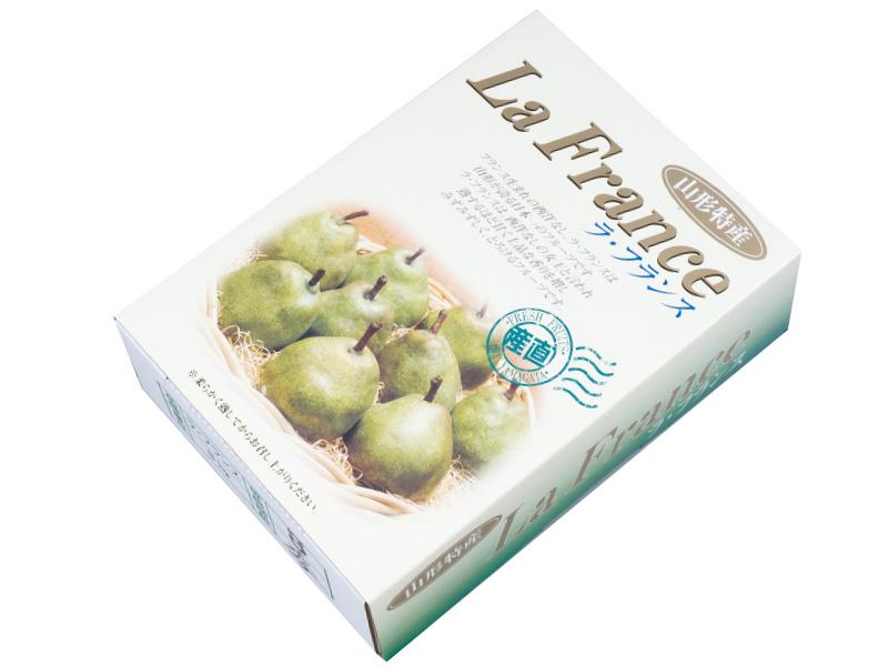 ラ・フランス化粧箱入約3kg8〜9玉