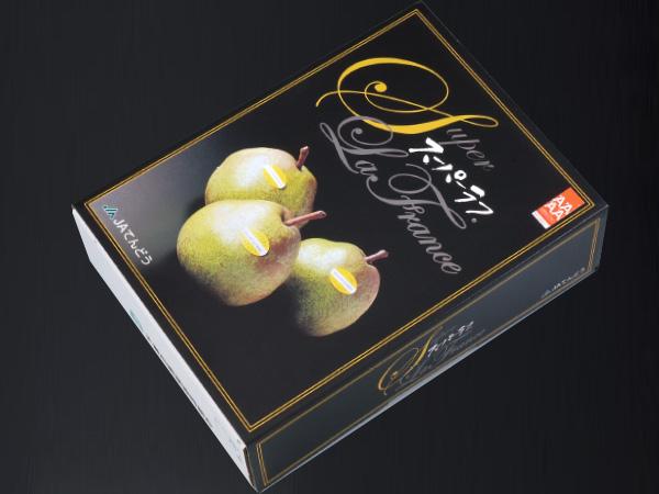 天童産スーパー・ラ・フランス化粧箱入約5kg14〜16玉