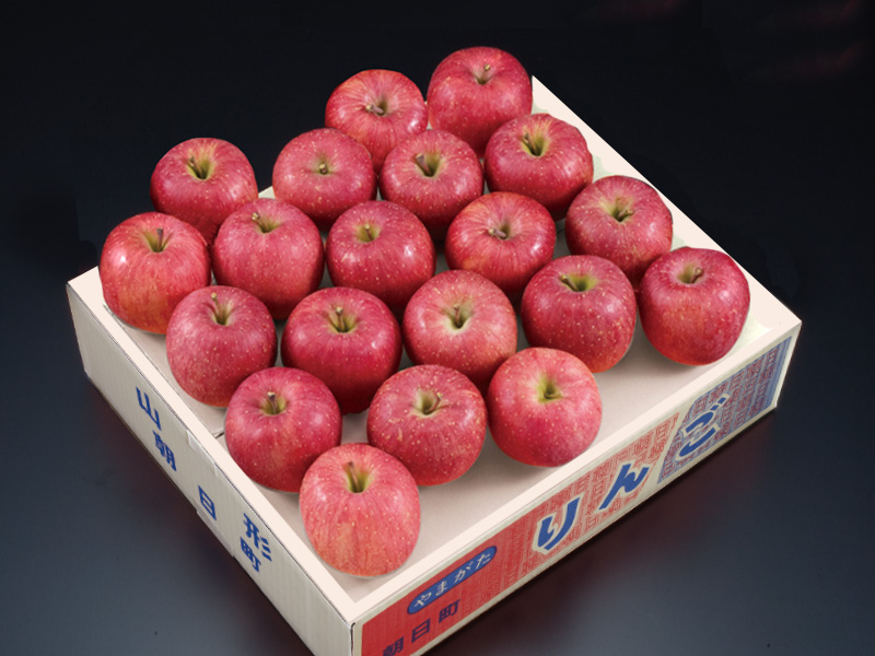 朝日町産秀品サンふじりんご約5kg20玉