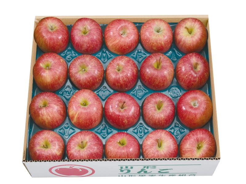 秀品山形サンふじりんご約10kg40玉(家庭用)