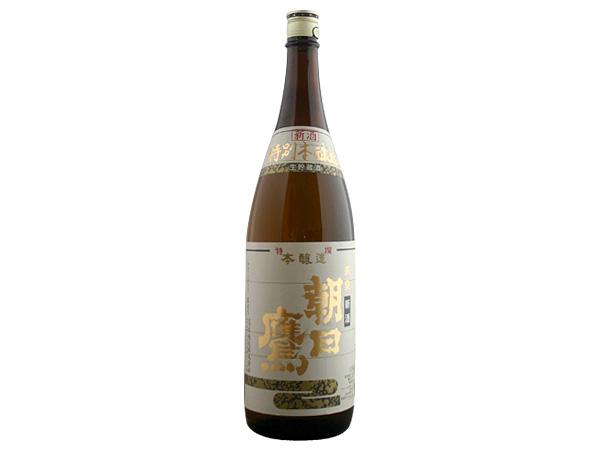 十四代蔵元 高木酒造 朝日鷹 特撰本醸造 新酒生貯蔵酒 1.8L