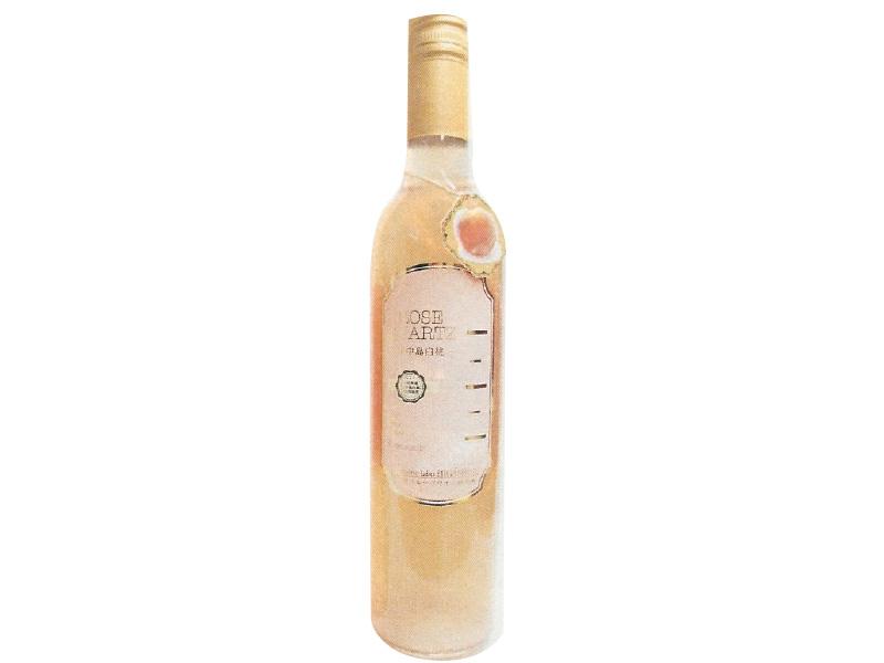 東根フルーツワイン ROSE QUARTZ 川中島白桃